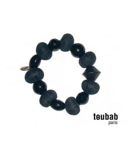 brcelet MINIBOULES noir