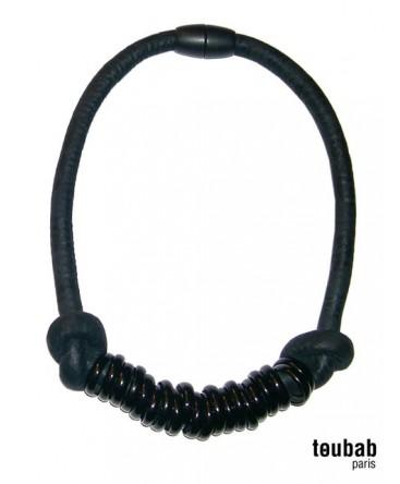 collier TOUMTOUM noir