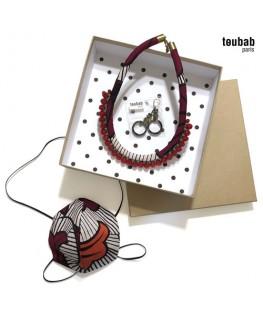 BOX cadeau collier et masque