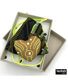 BOX cadeau masque et broche
